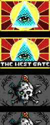 The West Gate BBS Theme by enzo