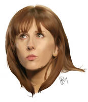 Donna Noble - Painter IX by Girl-on-the-Moon