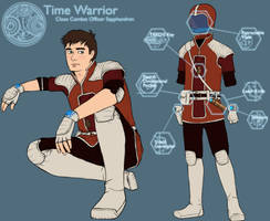 Time Warrior by Girl-on-the-Moon