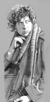 Tom Baker by Girl-on-the-Moon