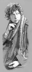 Tom Baker by Girl-on-the-Moon