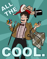 ALL THE COOL - Doctor Who by Girl-on-the-Moon