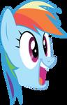 Rainbow Dash, IDEA! by Silentmatten