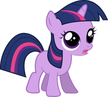 Filly Twilight Sparkle - Re-Upload by Silentmatten