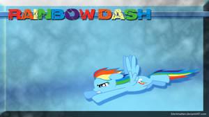 Rainbow Dash Wallpaper by Silentmatten