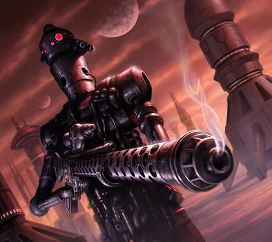IG-88 by R-Valle