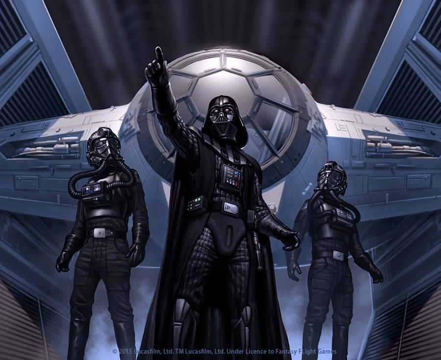 Darth Vader by R-Valle