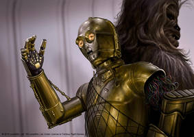 C-3PO by R-Valle
