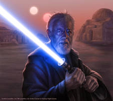 Obi-Wan Kenobi III by R-Valle