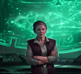 Leia Organa by R-Valle