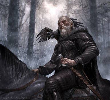 Old Bear Mormont by R-Valle