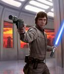 Luke Skywalker by R-Valle
