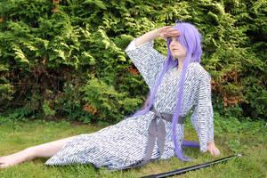 Relaxed Samurai by carola-chan