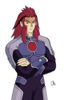 ThunderCats Ancestor Leo by jerica128