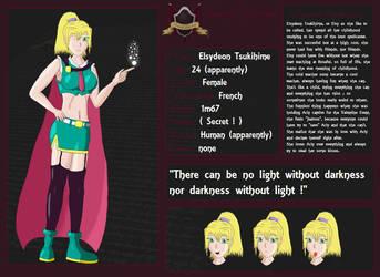 Elsydeon Character Sheet by ChampionNeko
