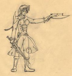 Erika, Hod's Templar by ChampionNeko