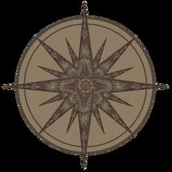 compass rose by aswad-hajja