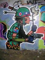 tank girl no2 by bubonelett