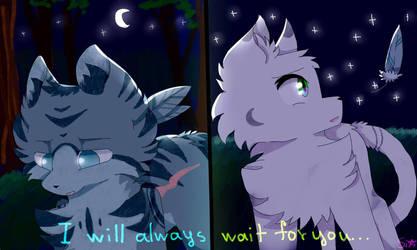 I will always wait for you... by FireStarCW