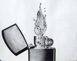 lighter-water (out of pencil) by ultra-seven