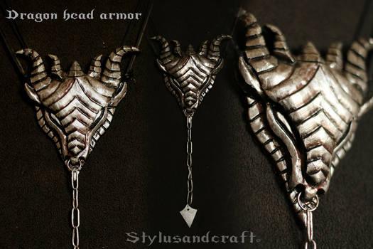 Dragon head armor - by Stylusandcraft by Styluscosplay