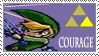 Triforce stamp- Courage by Kaaziel
