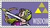 Triforce stamp- wisdom by Kaaziel