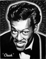 Chuck Berry by El-Grego
