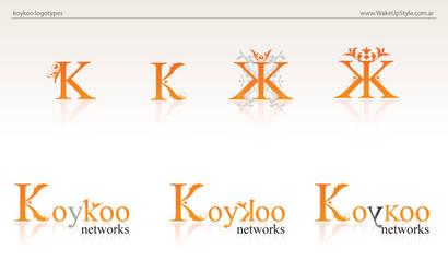 koykoo logotypes by blindfoldchalito