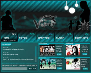 Web Vinilo by blindfoldchalito