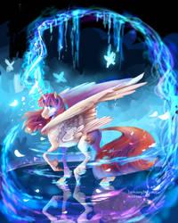 collab :Fausticorn by AquaGalaxy