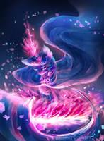 MLP AU : Twilight the dark witch by AquaGalaxy