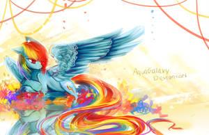 Rainbow Dash by AquaGalaxy