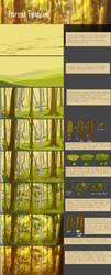 Forest Tutorial by AquaGalaxy