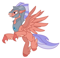 Unnamed Male Hippogriff by DragonChaser123