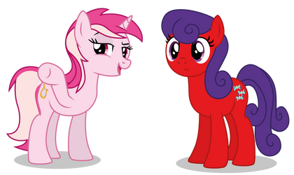Commission: April Lynch and Julie Walton by DragonChaser123