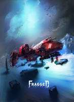 Legion Space Craft by TED-MX