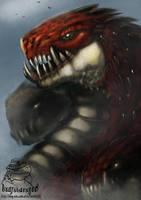 red dragon 1234 by badfatdragon