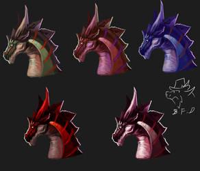 dragon icon 007 by badfatdragon