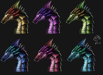 dragon icon 008 by badfatdragon