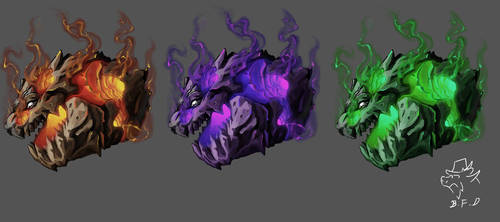 dragon icon 011 by badfatdragon