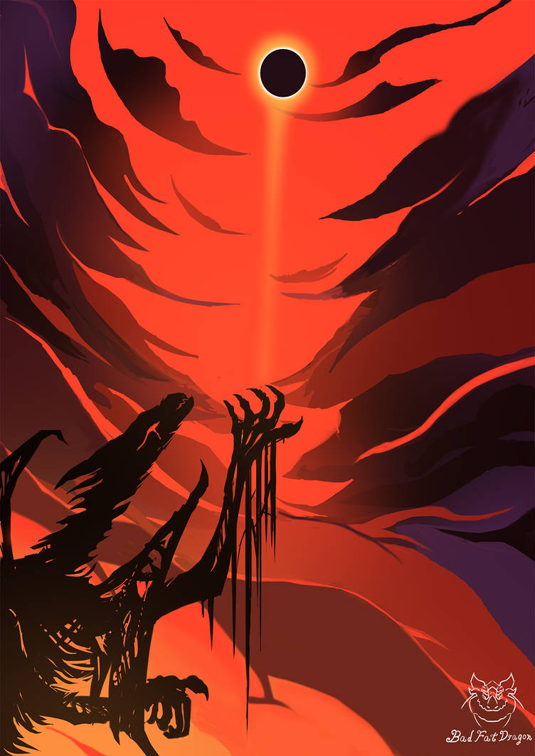 Black Sun by badfatdragon