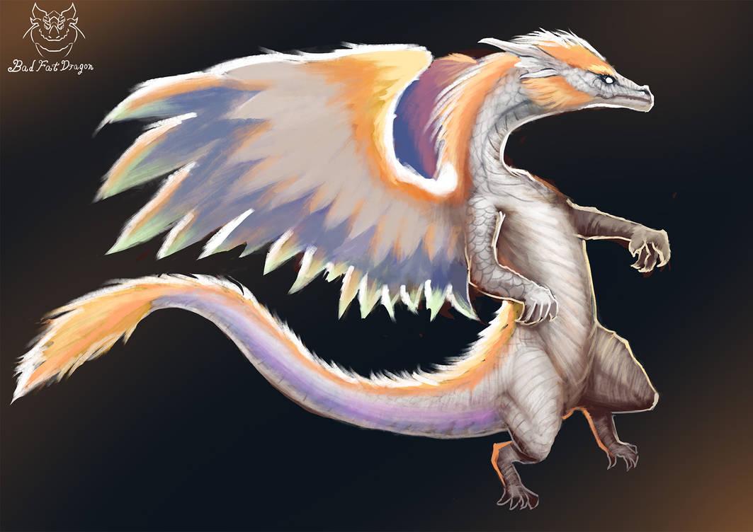 Lena-Lucia-dragon by badfatdragon