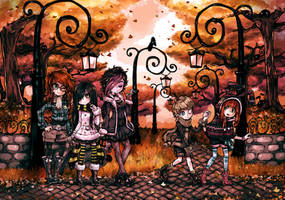 Autumn Park by Parororo