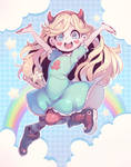 Star (VS the forces of  evil) by Parororo
