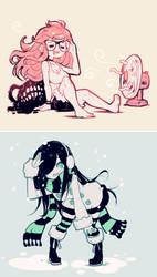 Summer-Winter by Parororo