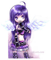 Lilac Lilas - art trade by Parororo