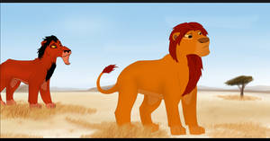Mufasa's Disapproval by BozoGirl