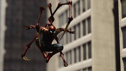 Iron Spider Man. (Avengers: Infinity War). by Remyras