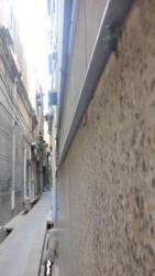 narrow street by zahidnabi
